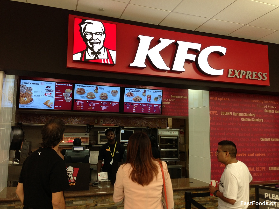 KFC Express - West Palm Beach Plaza, Florida, USA