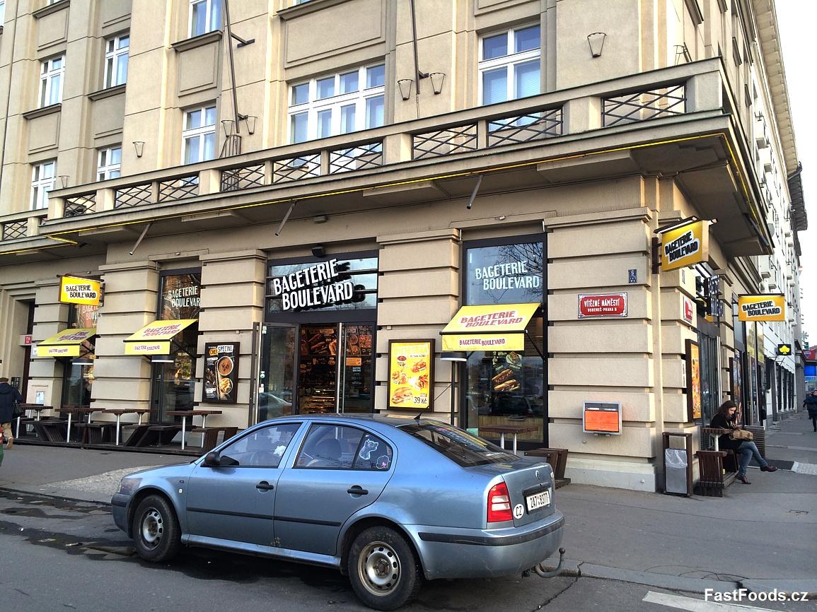 Bageterie Boulevard - Dejvická, Praha 6 - FastFoods.cz