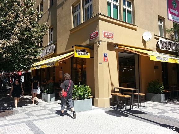 Bageterie Boulevard - Thámova, Karlín, Praha 8 - FastFoods.cz