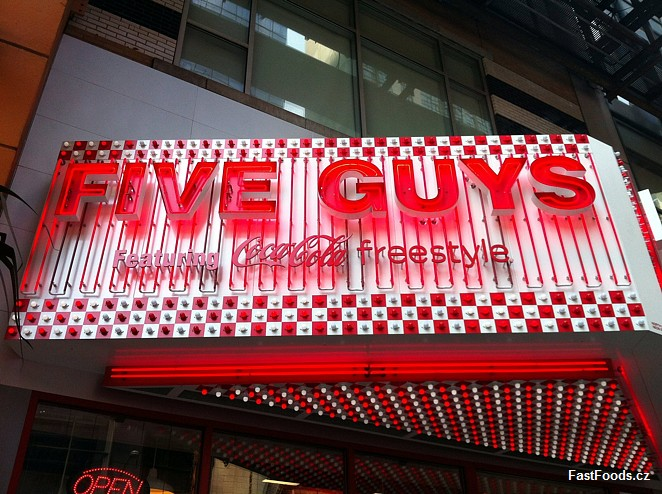 Five Guys - Times Square, New York, USA