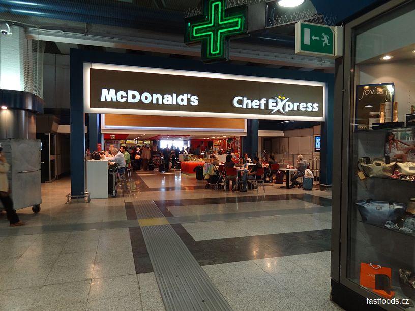 McDonalds Leonardo Da Vinci Rome