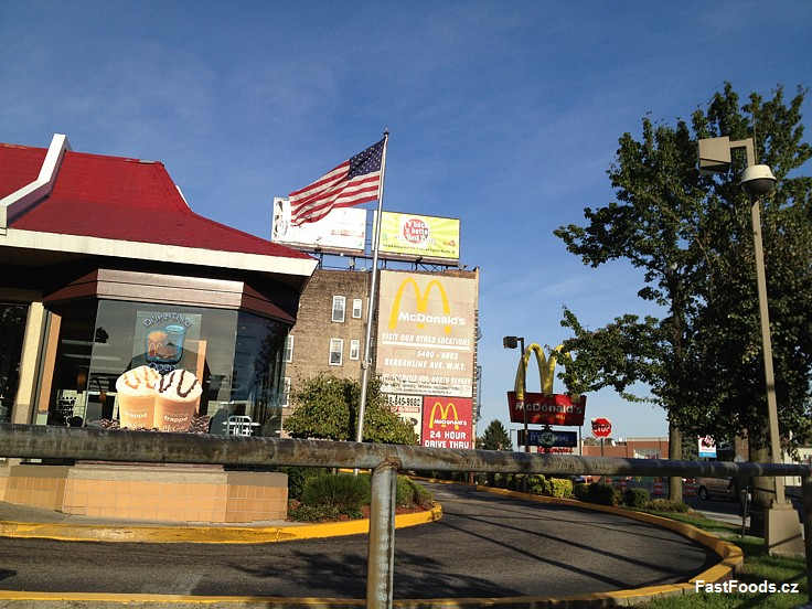McDonald´s - Weehawken, New Jersey. USA